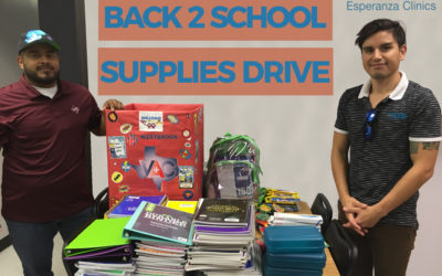 VAC's BACK 2 SCHOOL SUPPLIES DRIVE